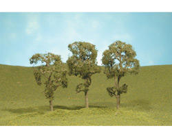 "Bachmann Scenescapes 3-4"" Maple Trees (3)"