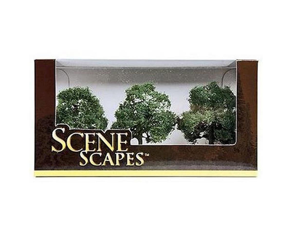 """Bachmann Scenescapes Oak Trees, 3-3.5"""" (3)"""