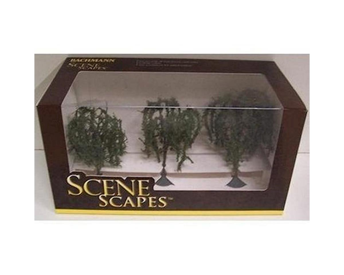"Bachmann Scenescapes Willow Trees, 3-3.5"" (3)"