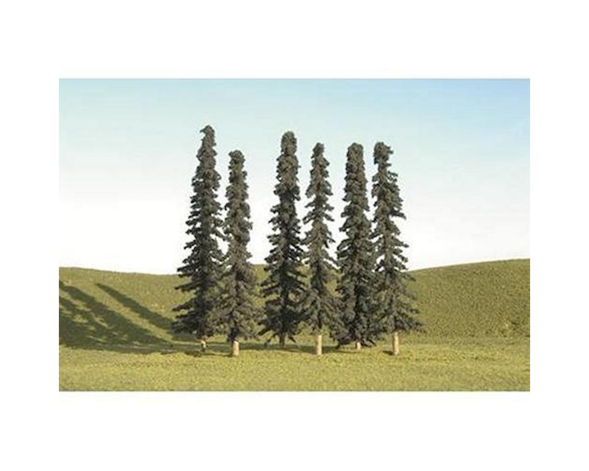 "Conifer Trees, 3-4"" (9) by Bachmann"