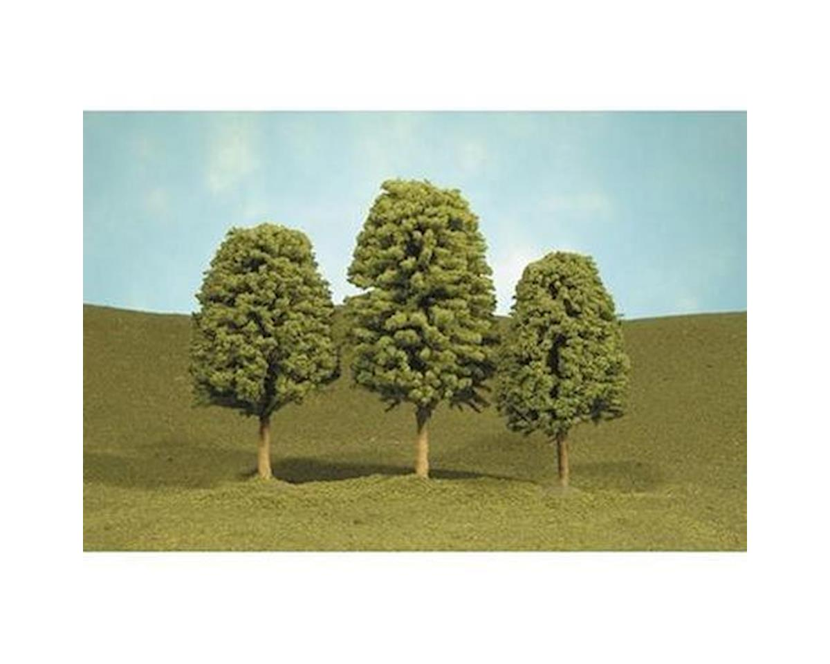"Deciduous Tress, 2-3"" (4) by Bachmann"