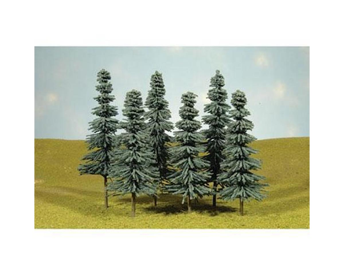 "Bachmann Scenescapes Blue Spruce Trees, 3-4"" (9)"
