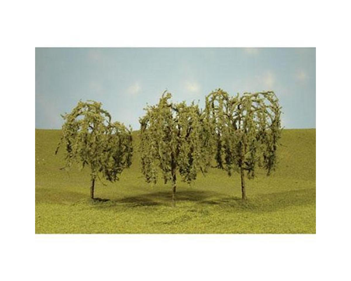 "Bachmann Scenescapes Willow Trees, 2.25-2.5"" (4)"