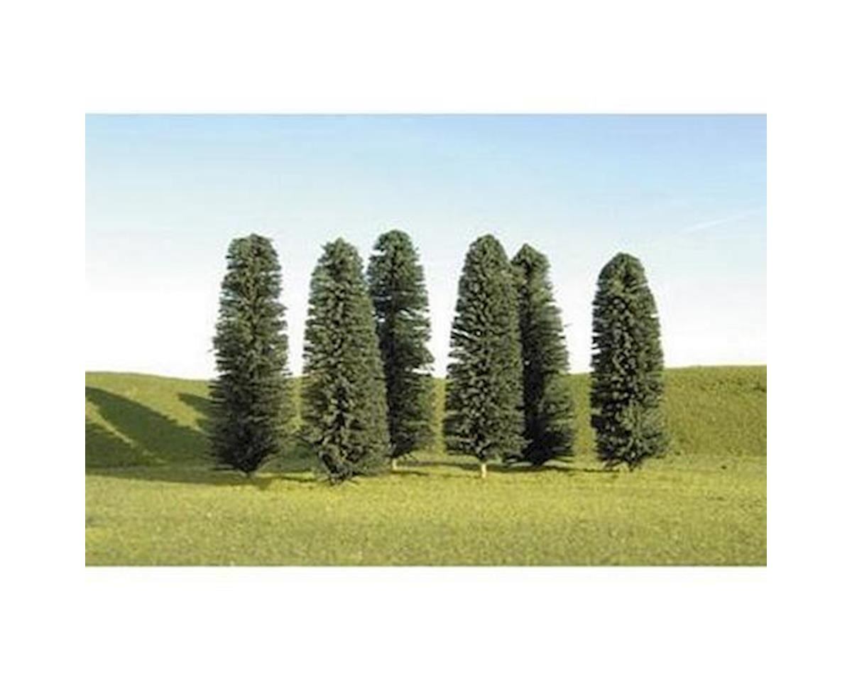 "Scenescapes  Cedar Trees, 5-6"" (24) by Bachmann"