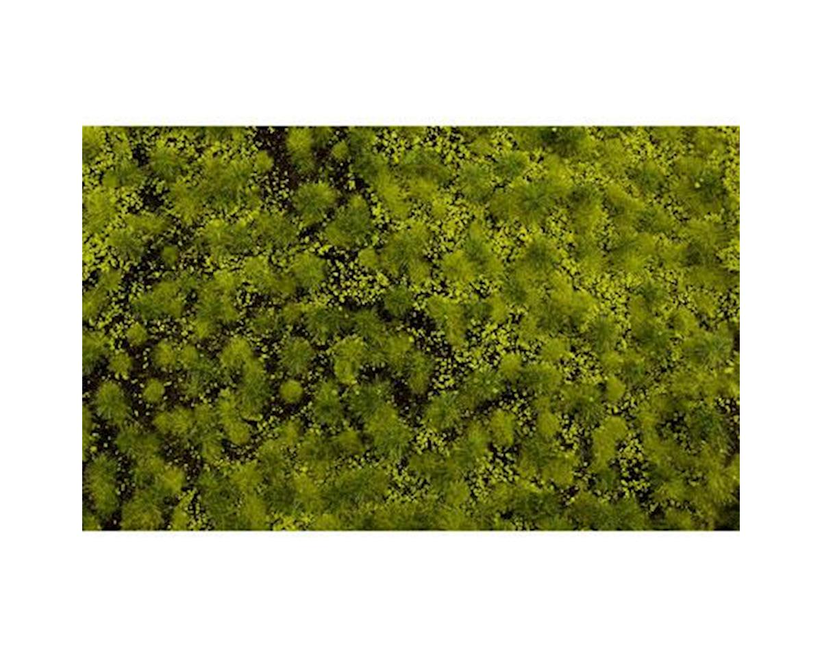 "Bachmann 11.75"" x 7.5"" Tufted Grass Mat, Light Green"