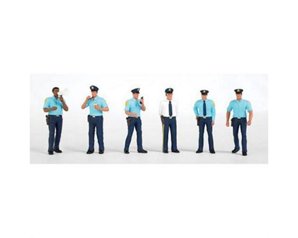 HO Police Squad (6) by Bachmann