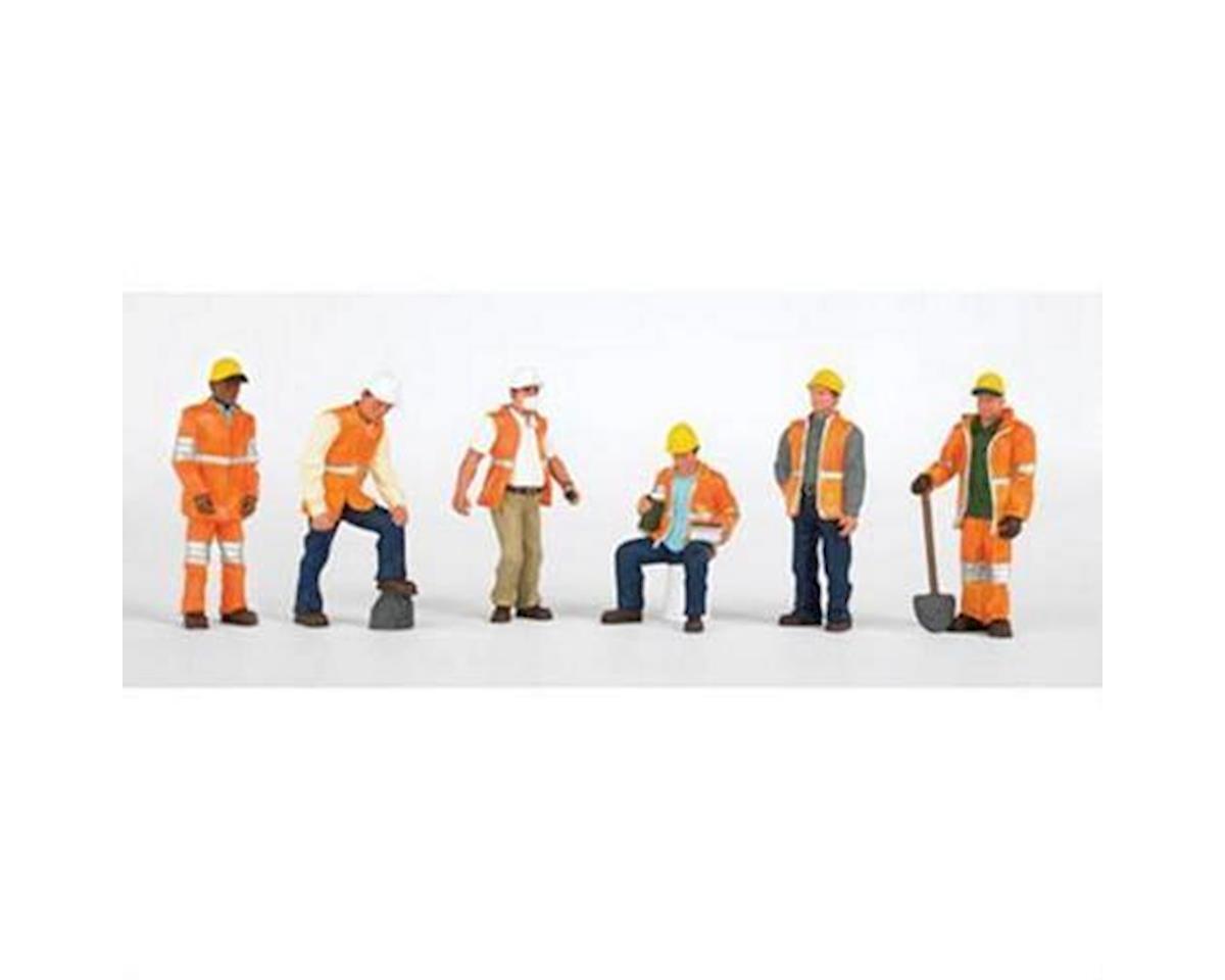 Bachmann HO Maintenance Workers (6)