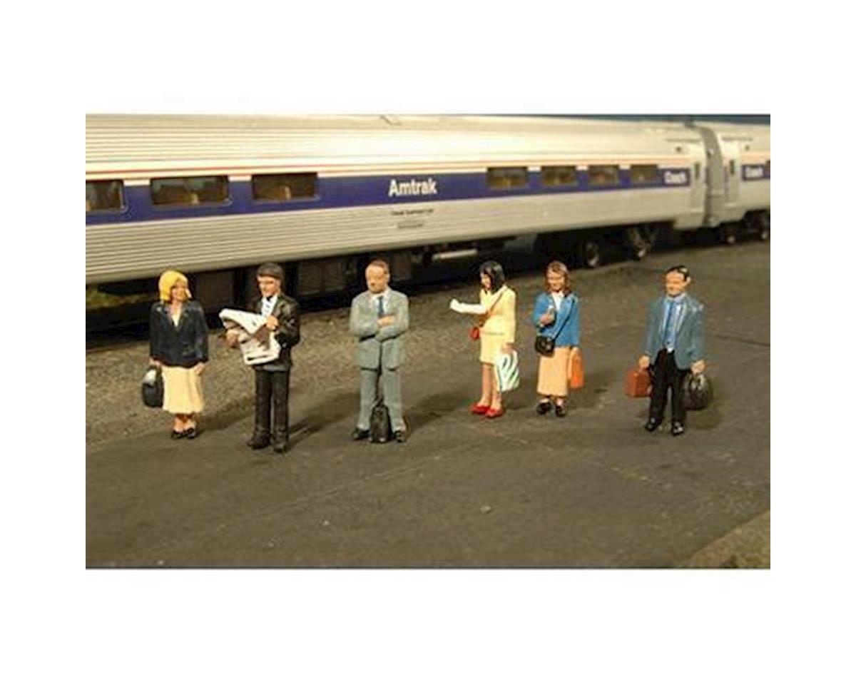 Bachmann HO Standing Platform Passengers