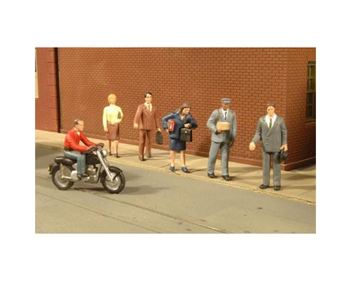 Bachmann O City People with Motorcycle (7)