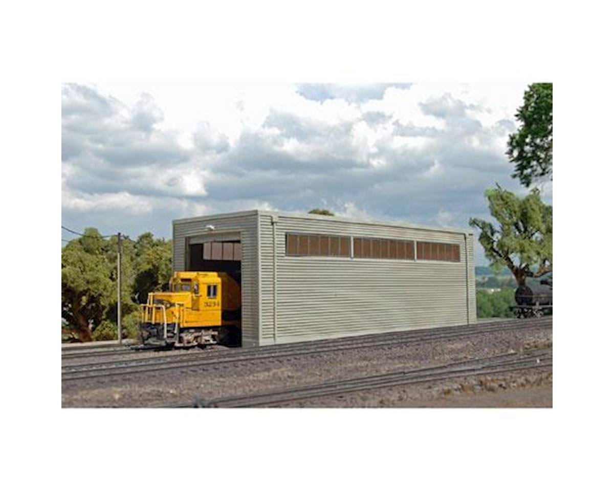 HO Single Stall Shed by Bachmann