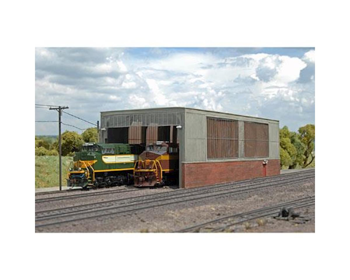 Bachmann Scenescapes Double Stall Shed (HO Scale)