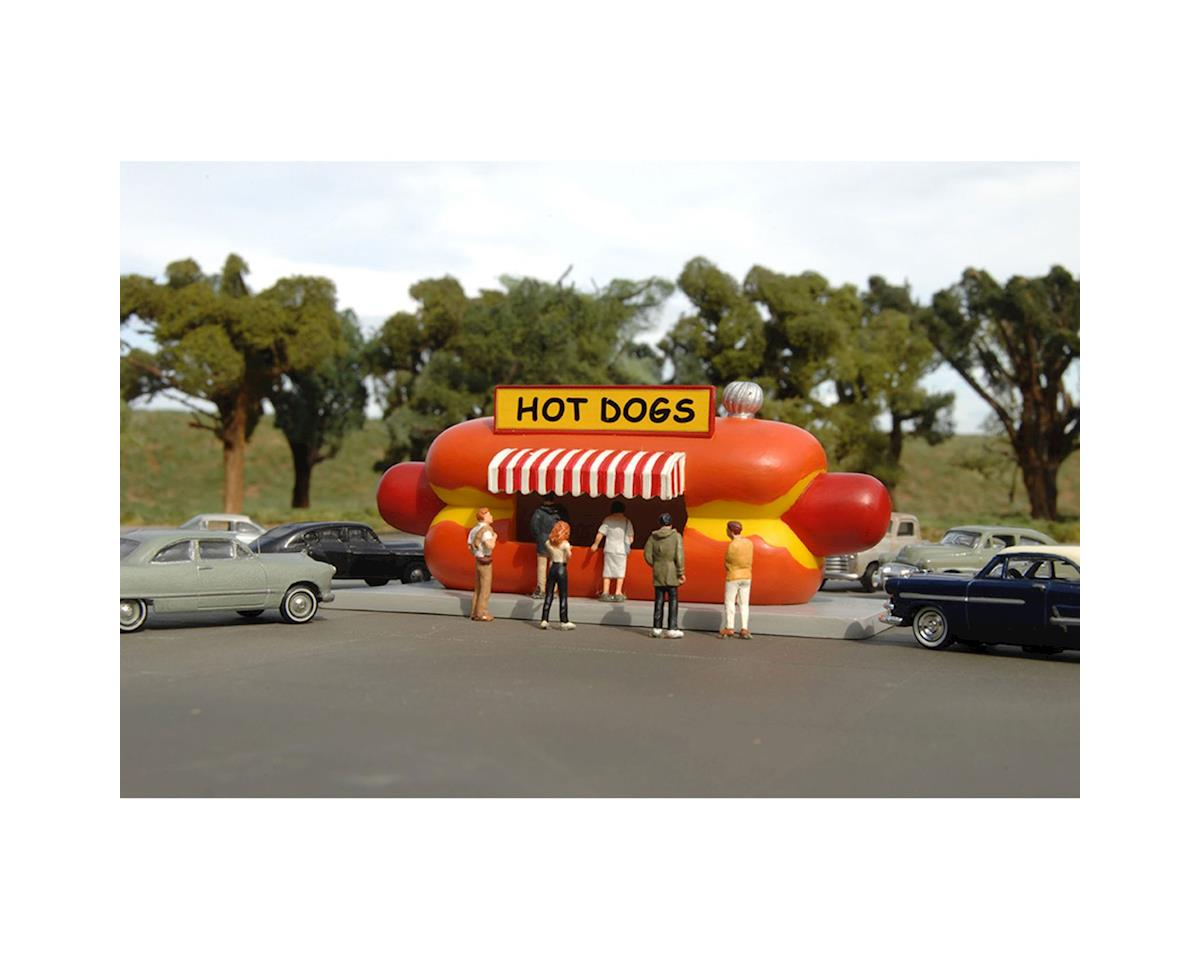 Bachmann Roadside U.S.A. Building Hot Dog Stand (HO Scale)