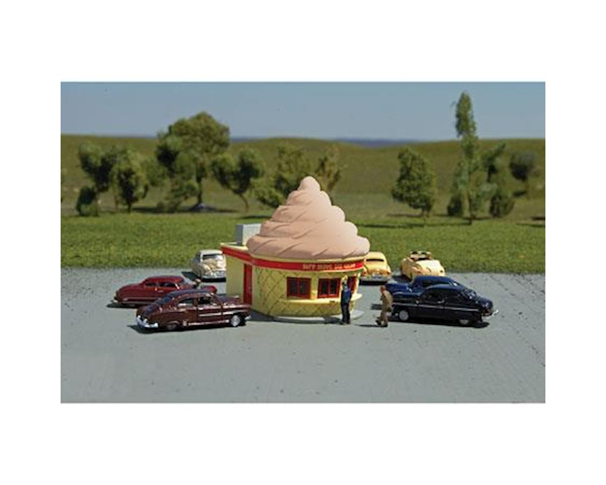 Bachmann N Ice Cream Stand, Chocolate