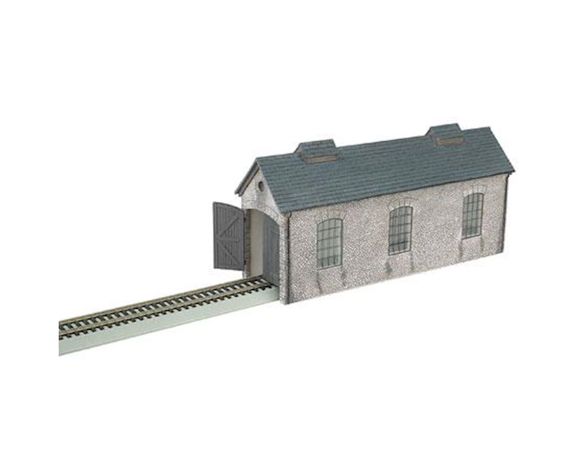 Bachmann HO Bldg Front, Engine Shed