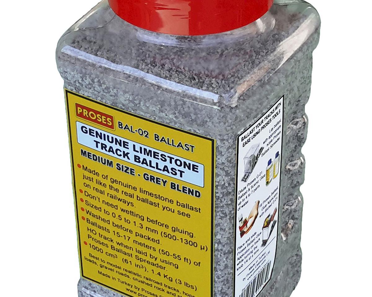 Bachmann Limestone Ballast, Gray Blend