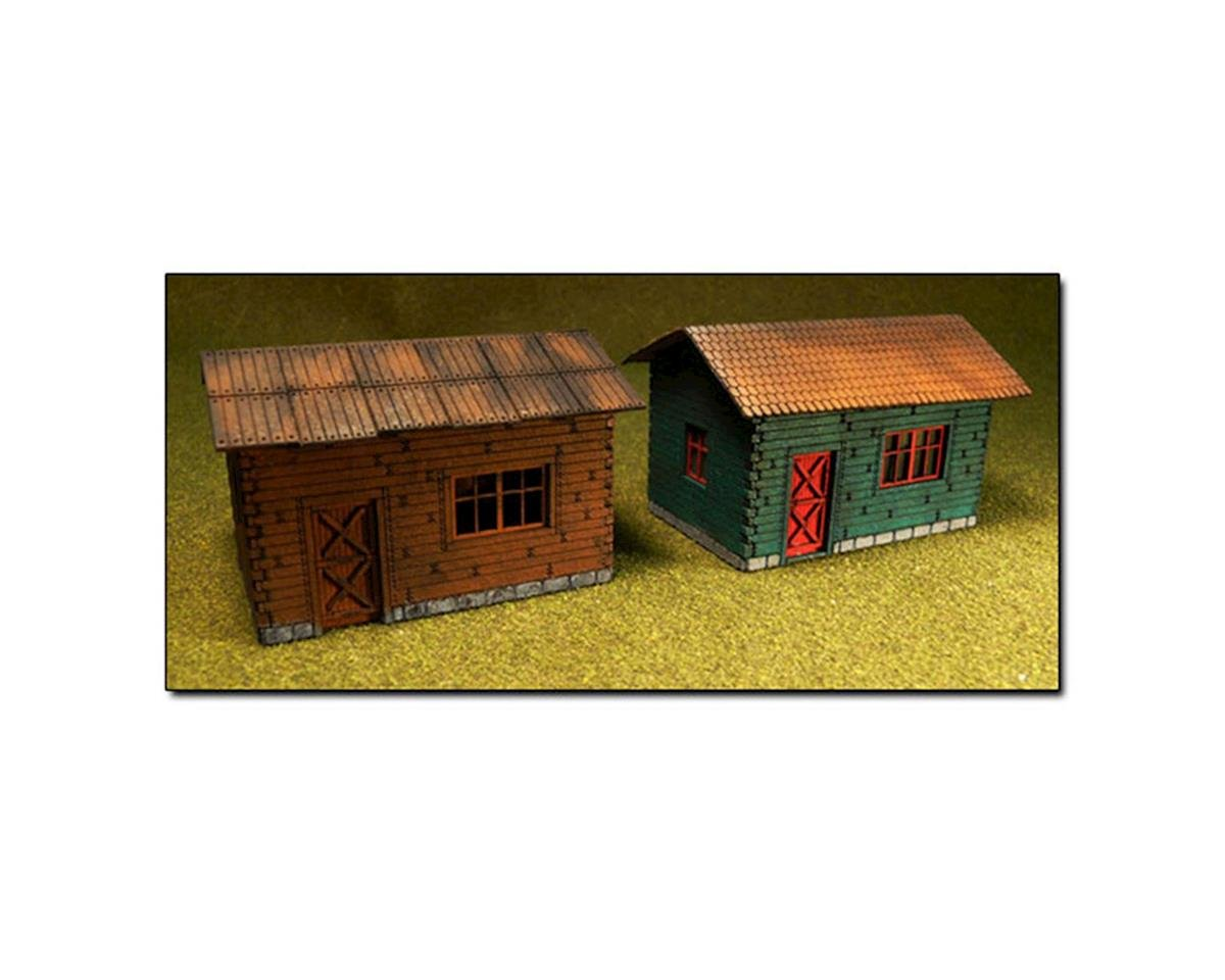 Bachmann HO KIT Laser Cut Cottage (2)