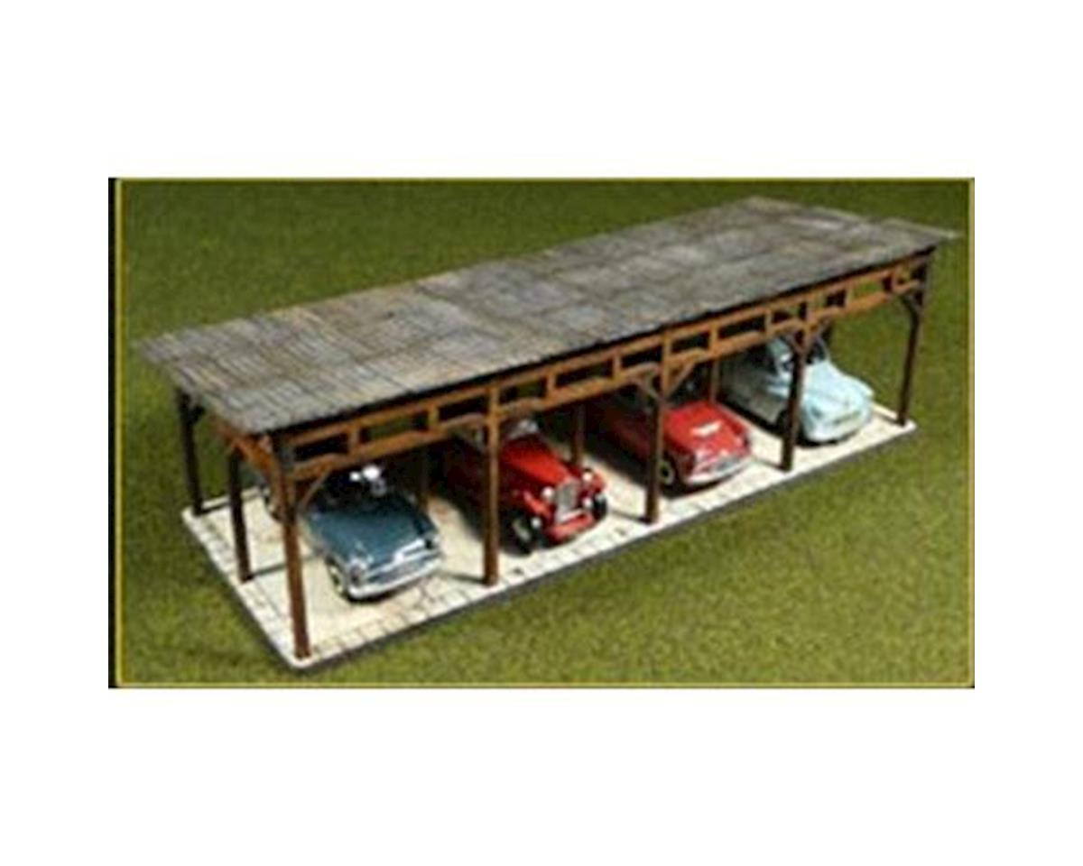 Bachmann HO KIT Laser Cut Car Shed