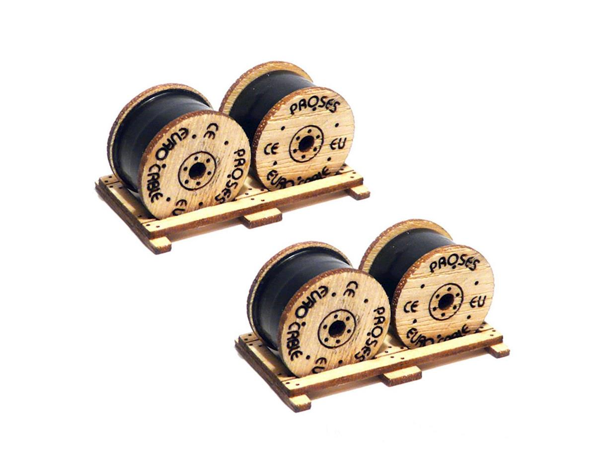 Bachmann HO Cable Drums (2)