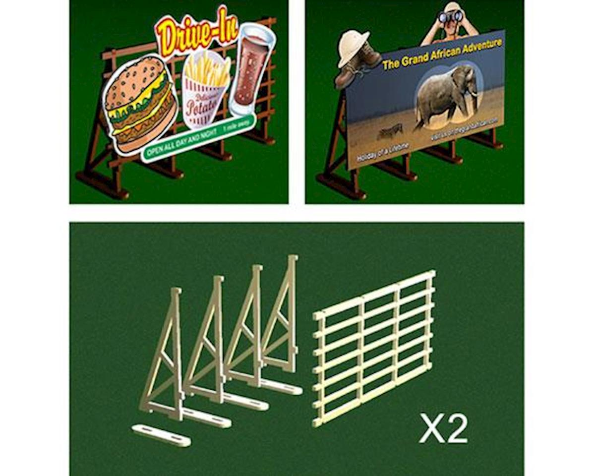 Bachmann O Billboard Kit (2)