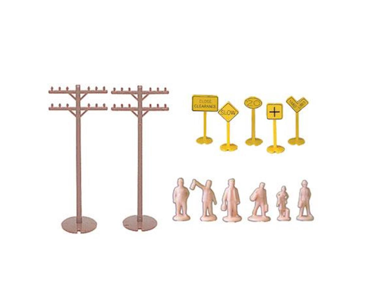 Bachmann HO Layout Accessories Assortment