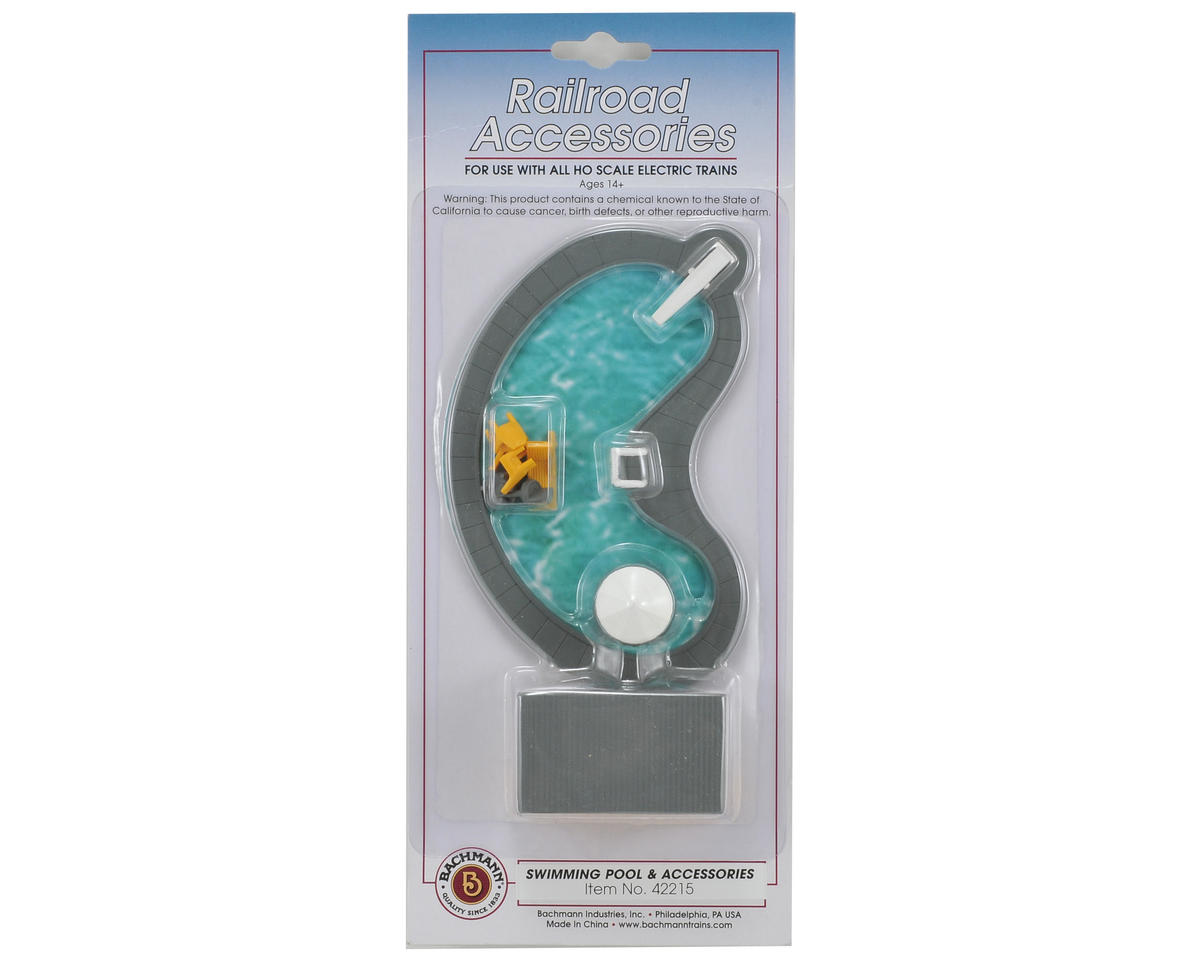 Bachmann HO-Scale Swimming Pool & Accessories