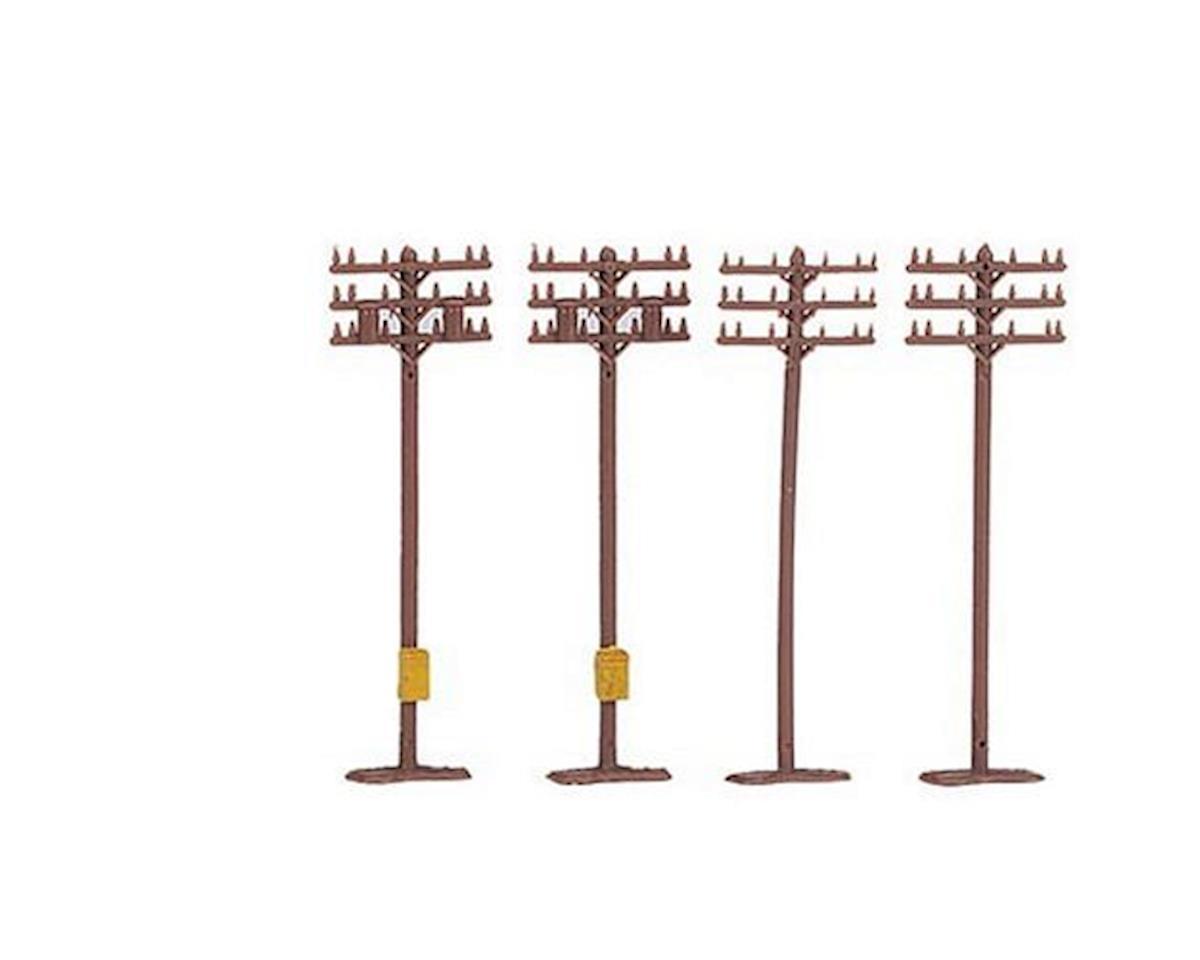 Bachmann N Telephone Poles (12)