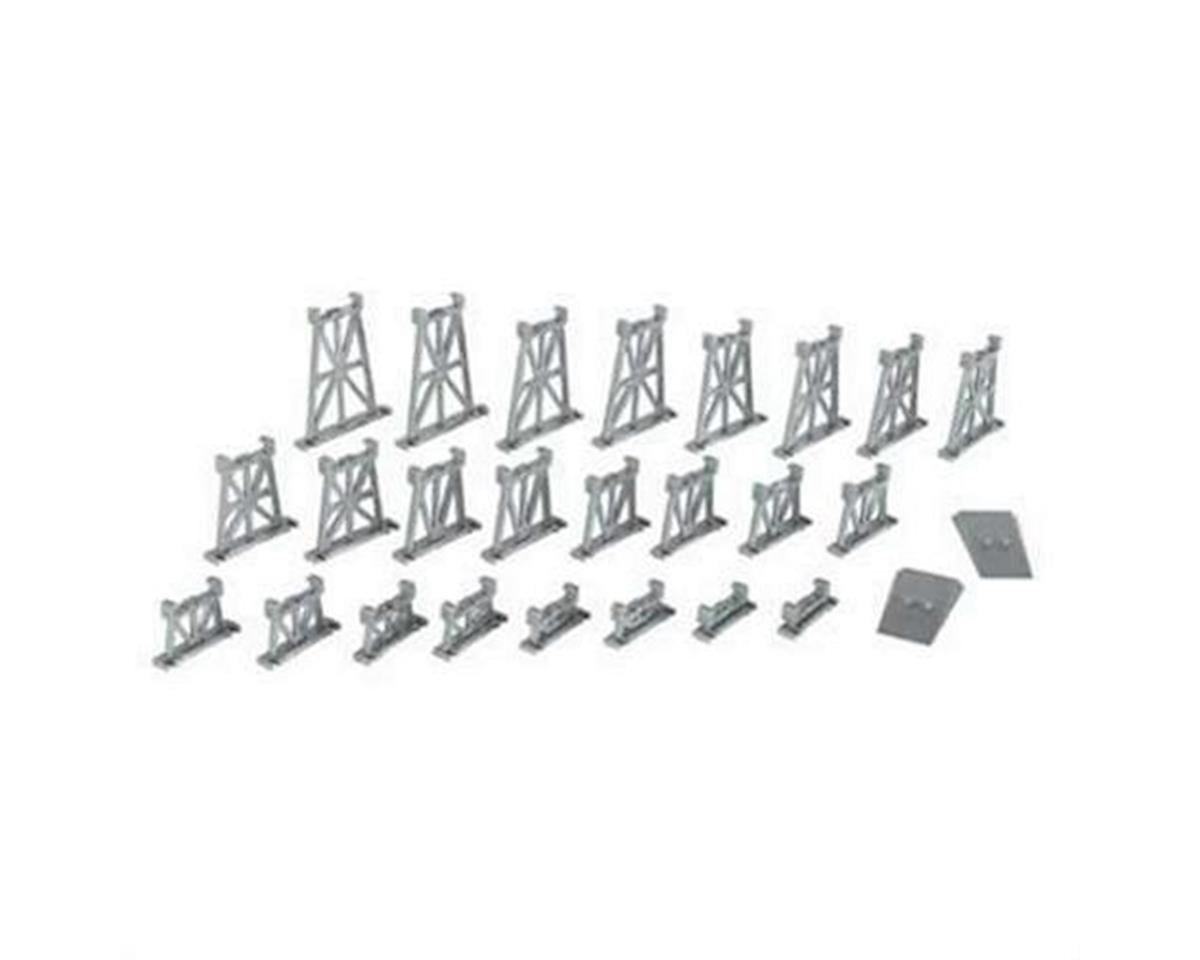 Bachmann N Graduated Trestle Set (26pc/cd)