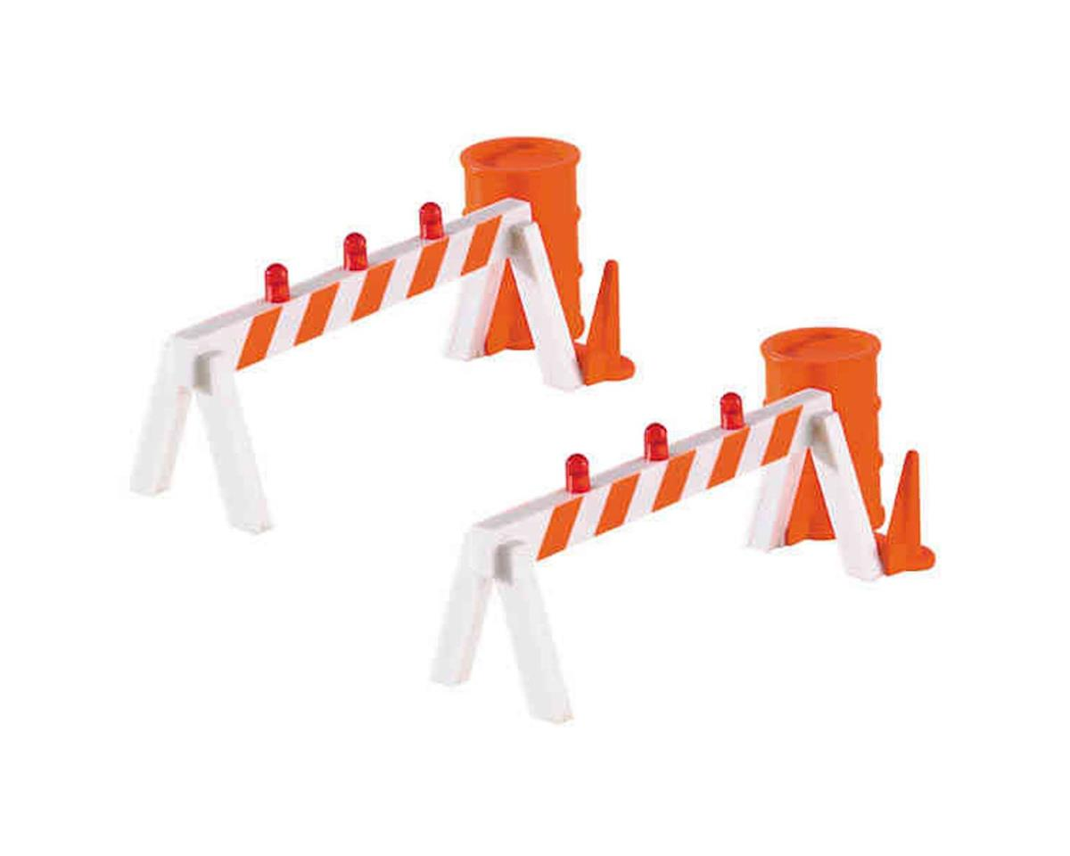 Bachmann O-27 Williams Operating Hazard Barricades (2)