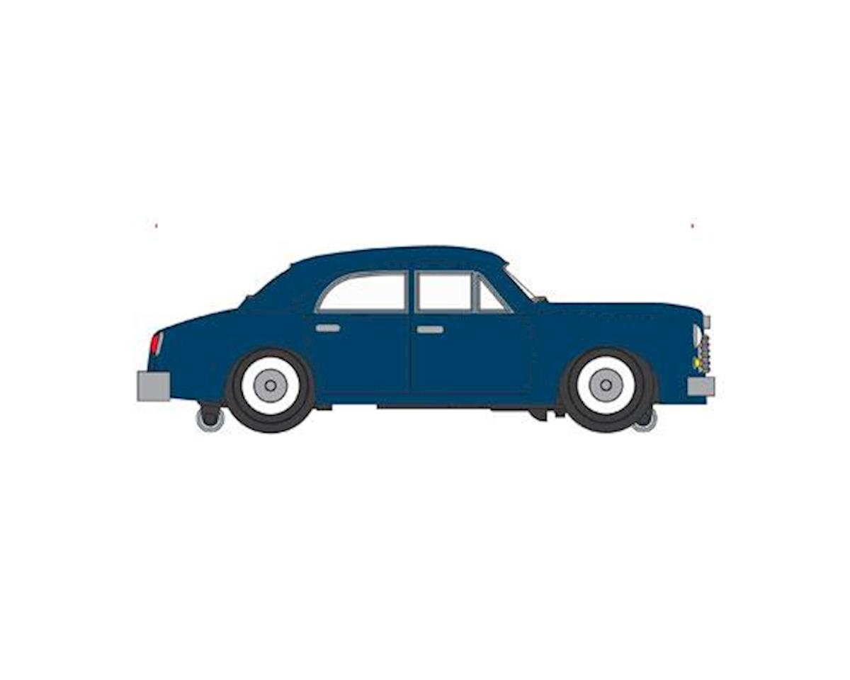 O E-Z Street Sedan, Blue by Bachmann
