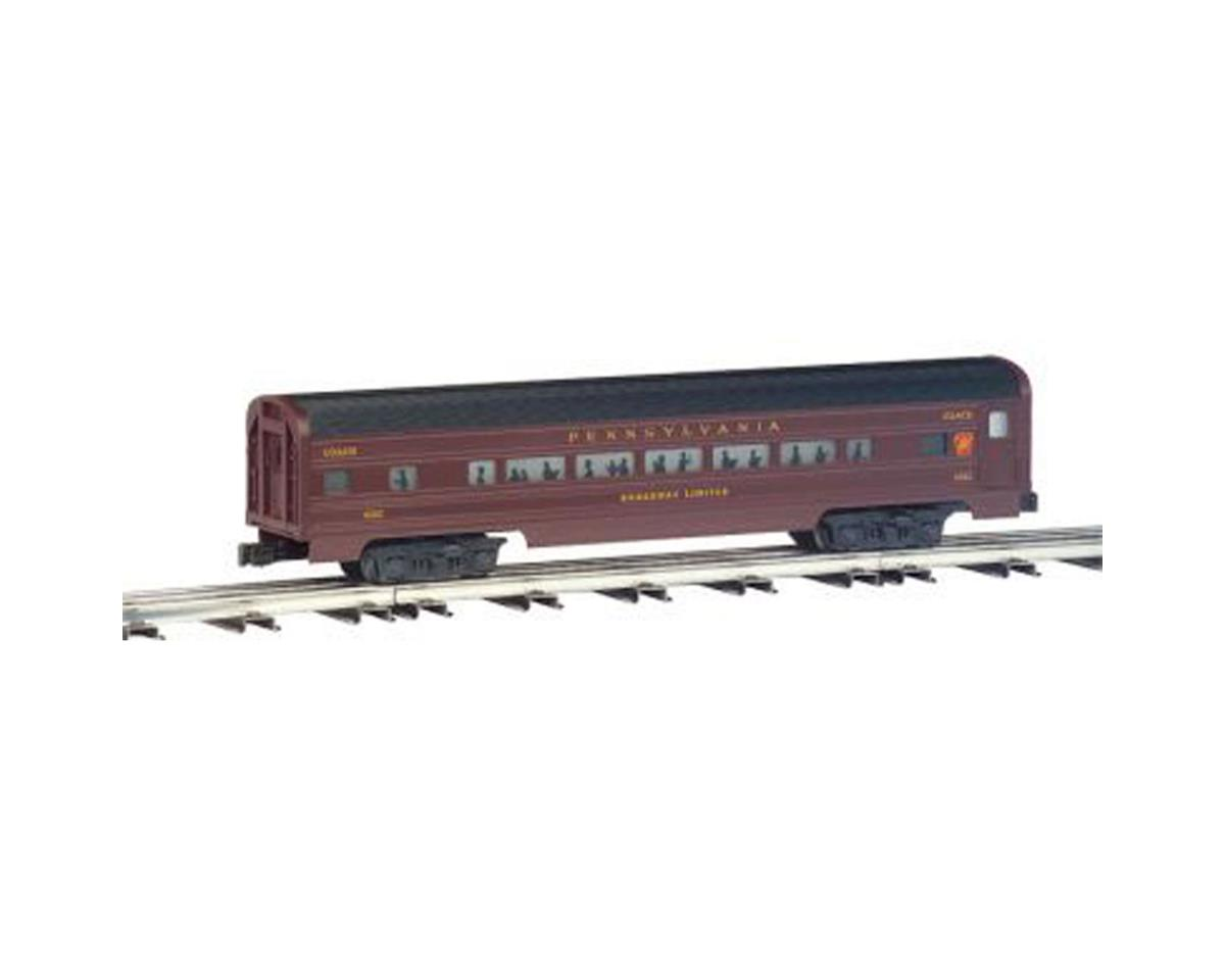 O-31 Williams 60' Strmln Combine/Diner, PRR (2) by Bachmann