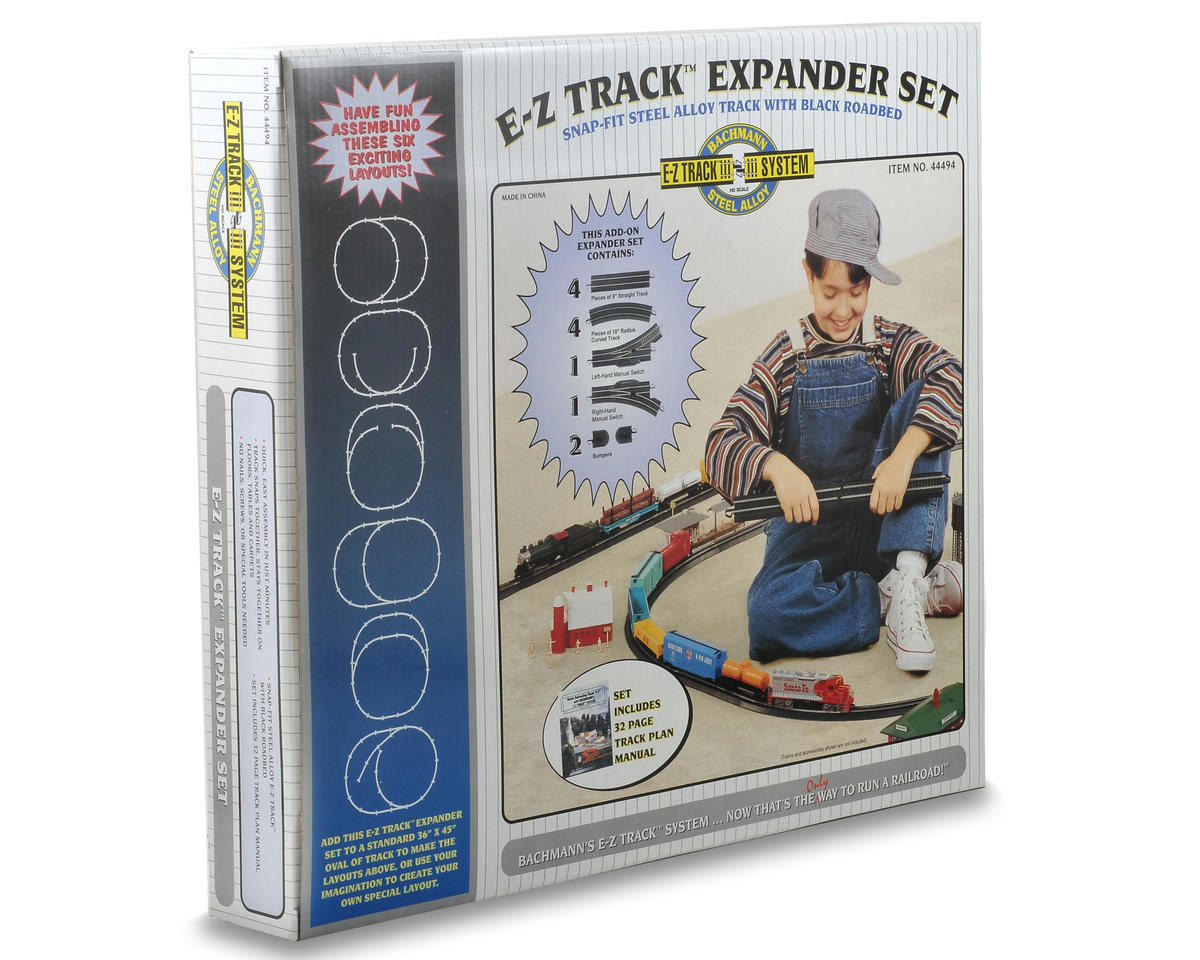 Bachmann HO-Scale E-Z Track Steel Layout Expander Set