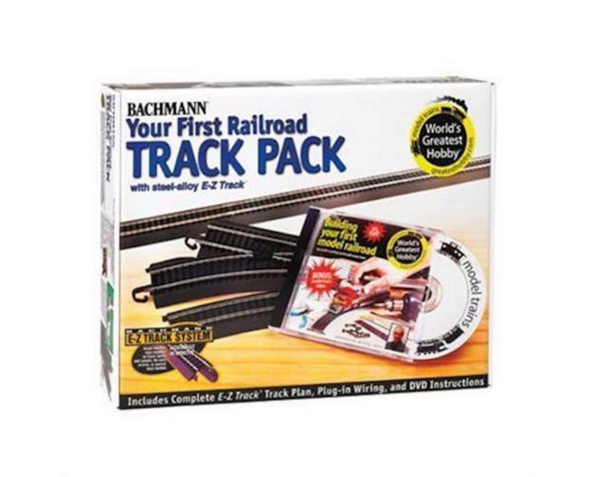 Bachmann E-Z Steel Alloy First Railroad Track Pack (HO Scale) | relatedproducts