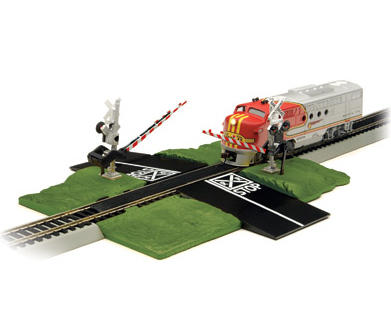 Bachmann HO-Scale E-Z Track Nickel Silver Track Crossing Gate