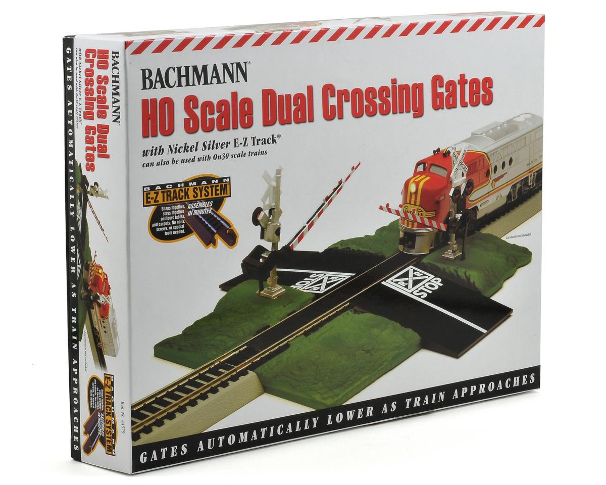 HO-Scale E-Z Track Nickel Silver Track Crossing Gate by Bachmann