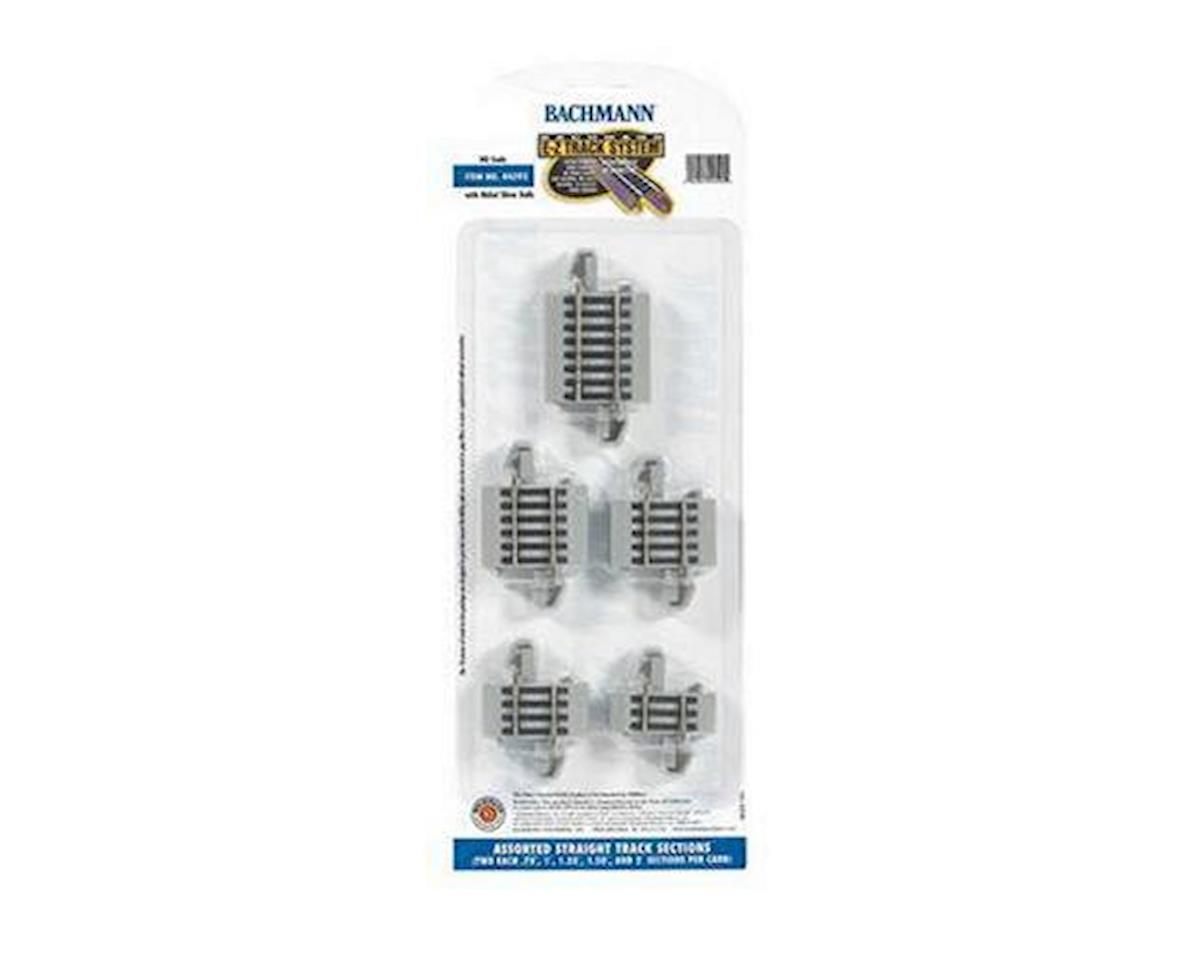Bachmann HO NS EZ Track Connector Assortment (10)
