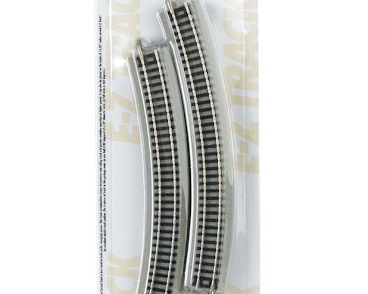 "Bachmann N 14"" Radius Curved Nickel Silver Track (6/Cd)"