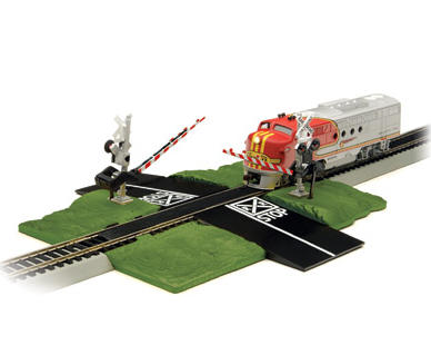 N-Scale E-Z Track Nickel Silver Crossing Gate