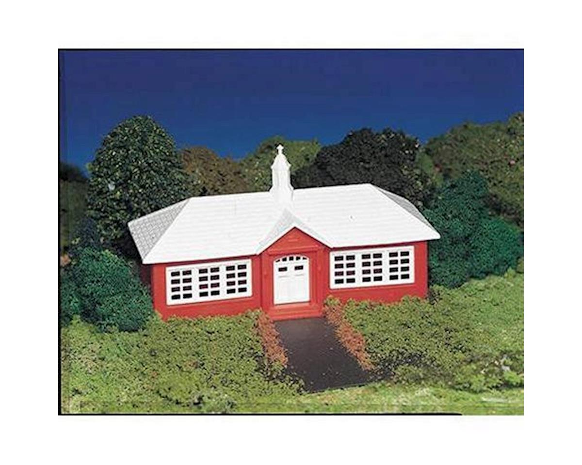 HO Snap KIT School House by Bachmann