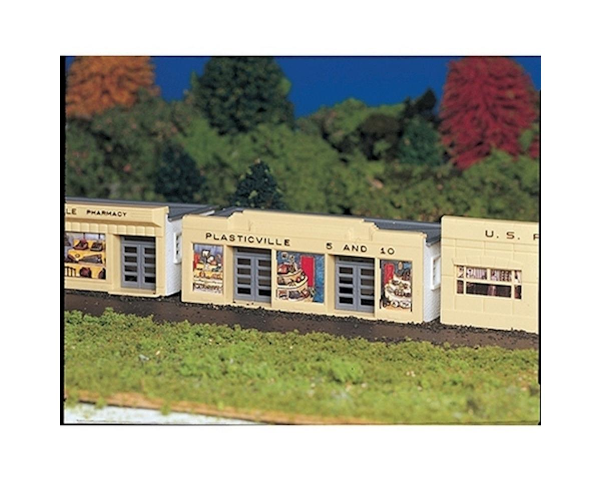 HO Snap KIT 5 & 10 Store by Bachmann