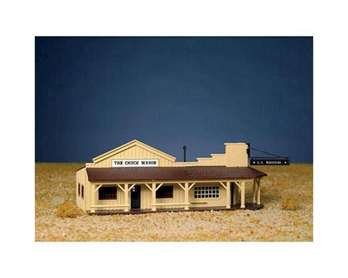 Bachmann HO Snap KIT Marshall's Office and Restaurant