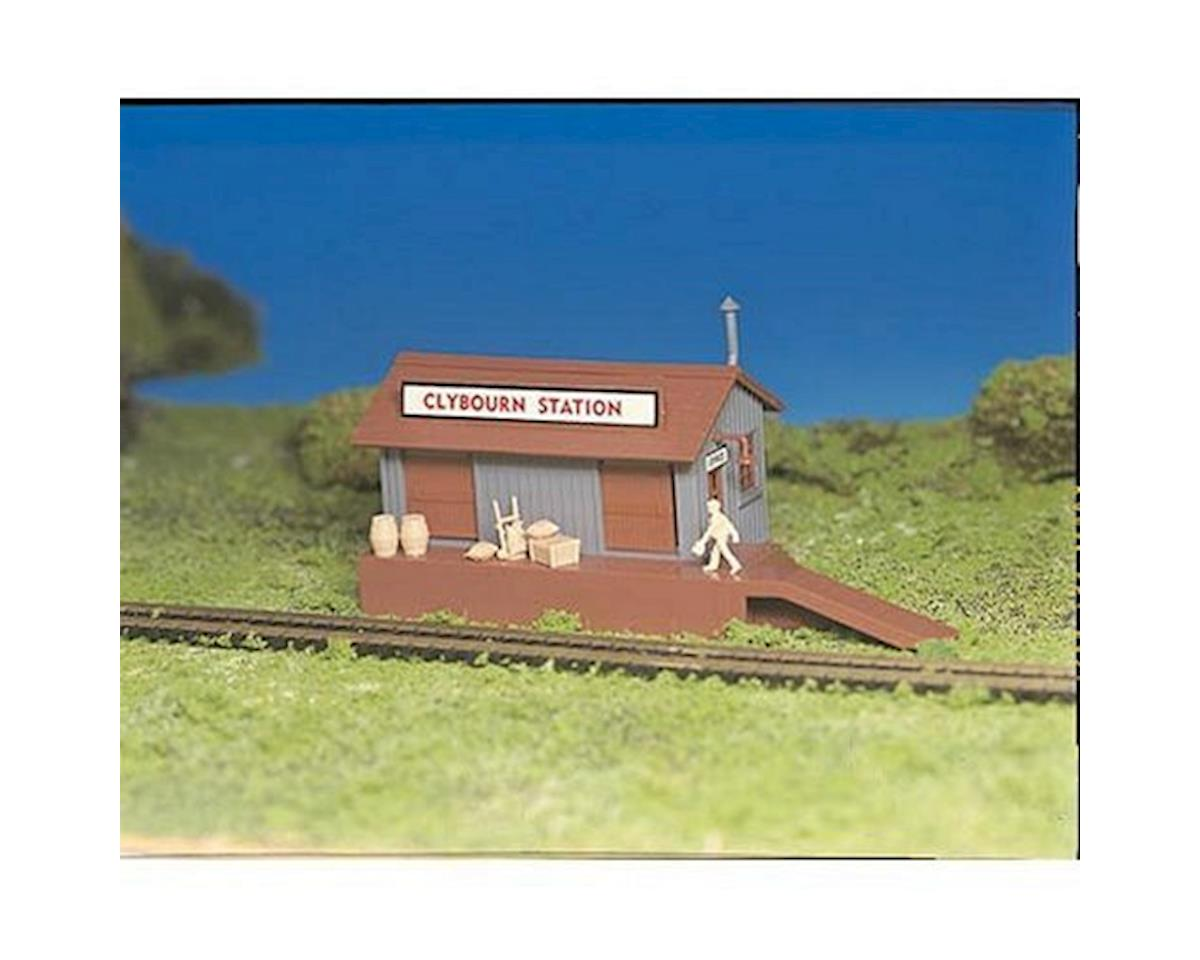 Bachmann HO Snap KIT Freight Station