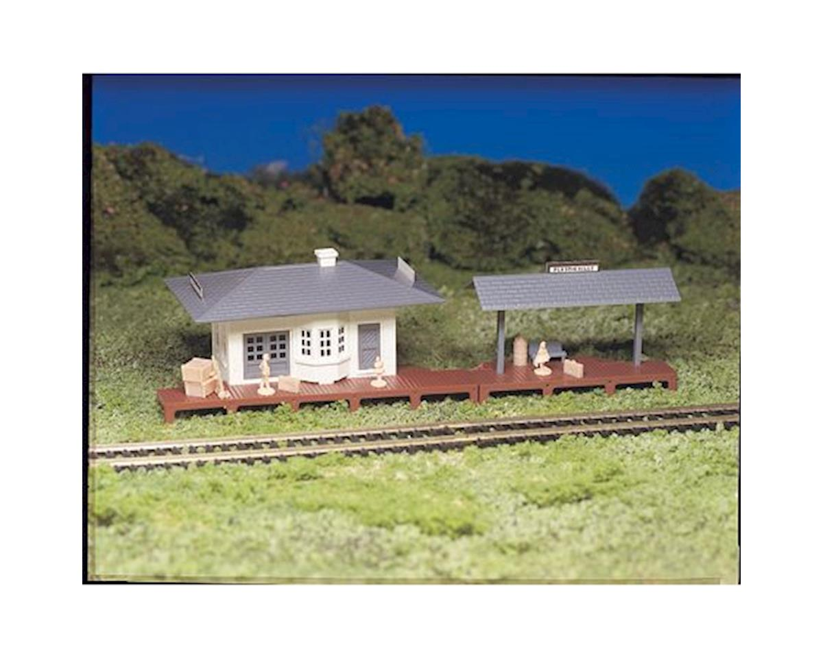 Bachmann HO Snap KIT Suburban Station