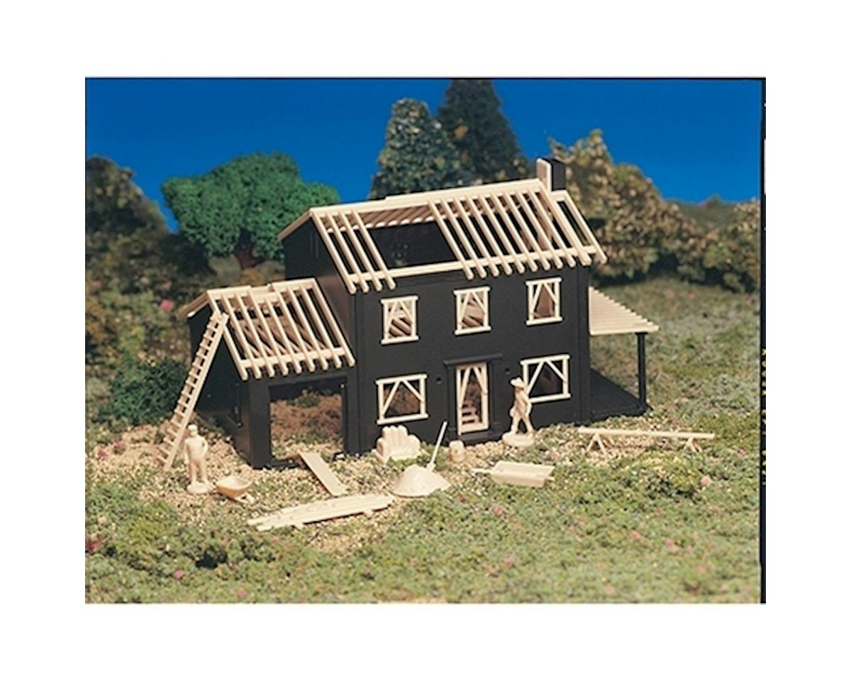 Bachmann HO Snap KIT House Under Construction