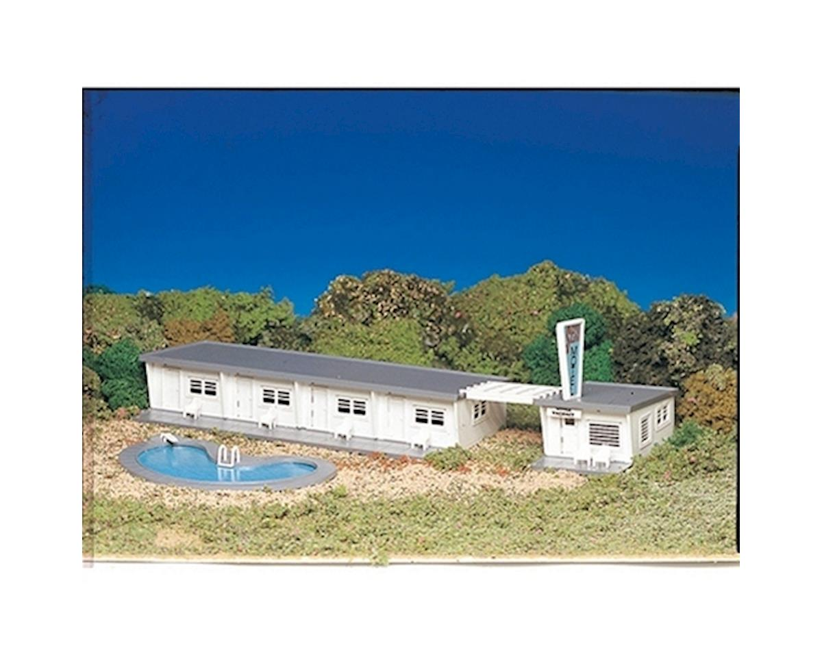 Bachmann HO Snap KIT Motel With Pool