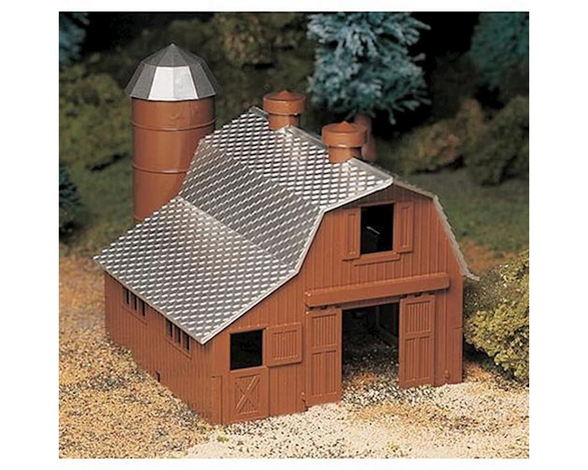O Snap KIT Dairy Barn by Bachmann
