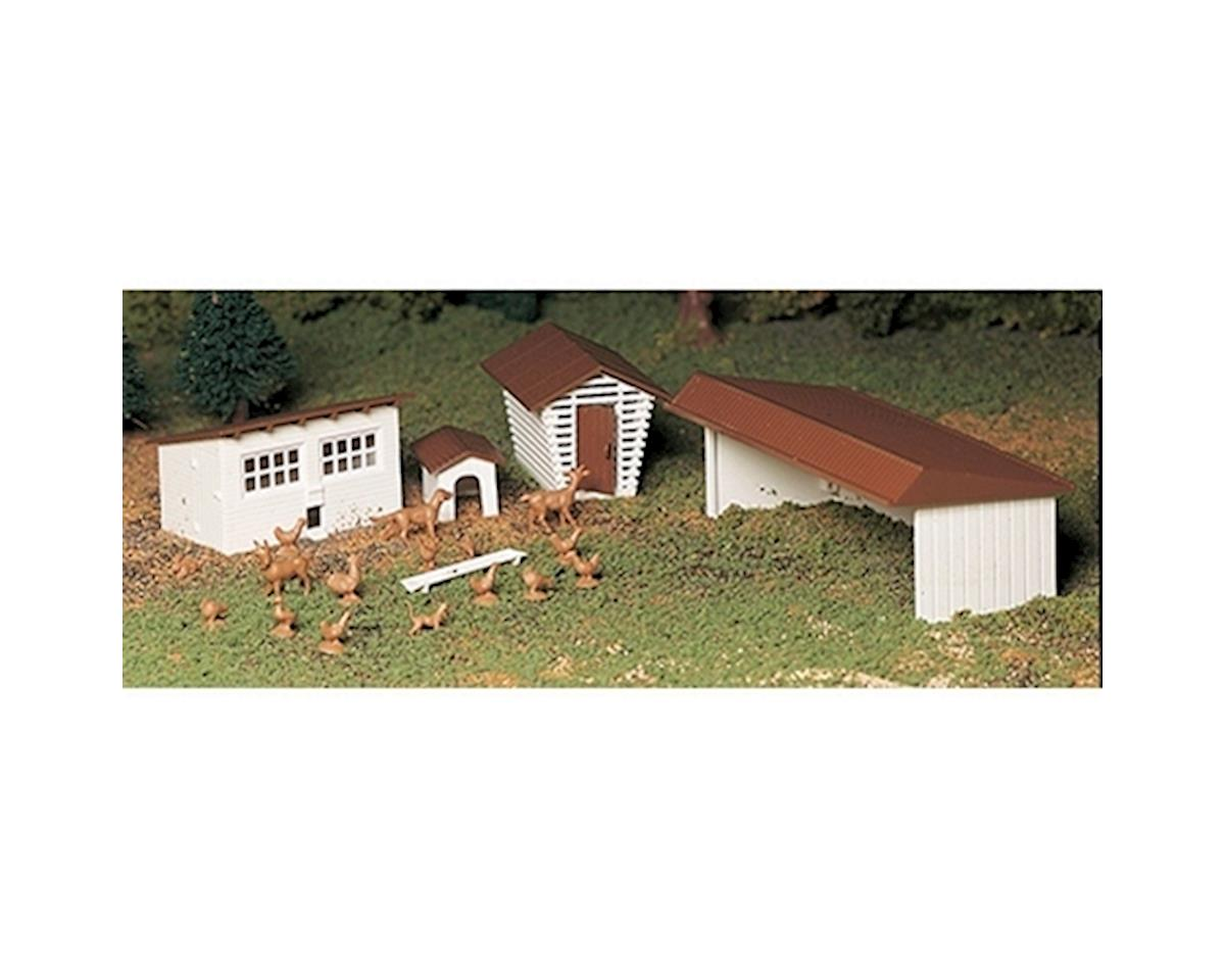 Bachmann O Snap KIT Farm Out Buildings