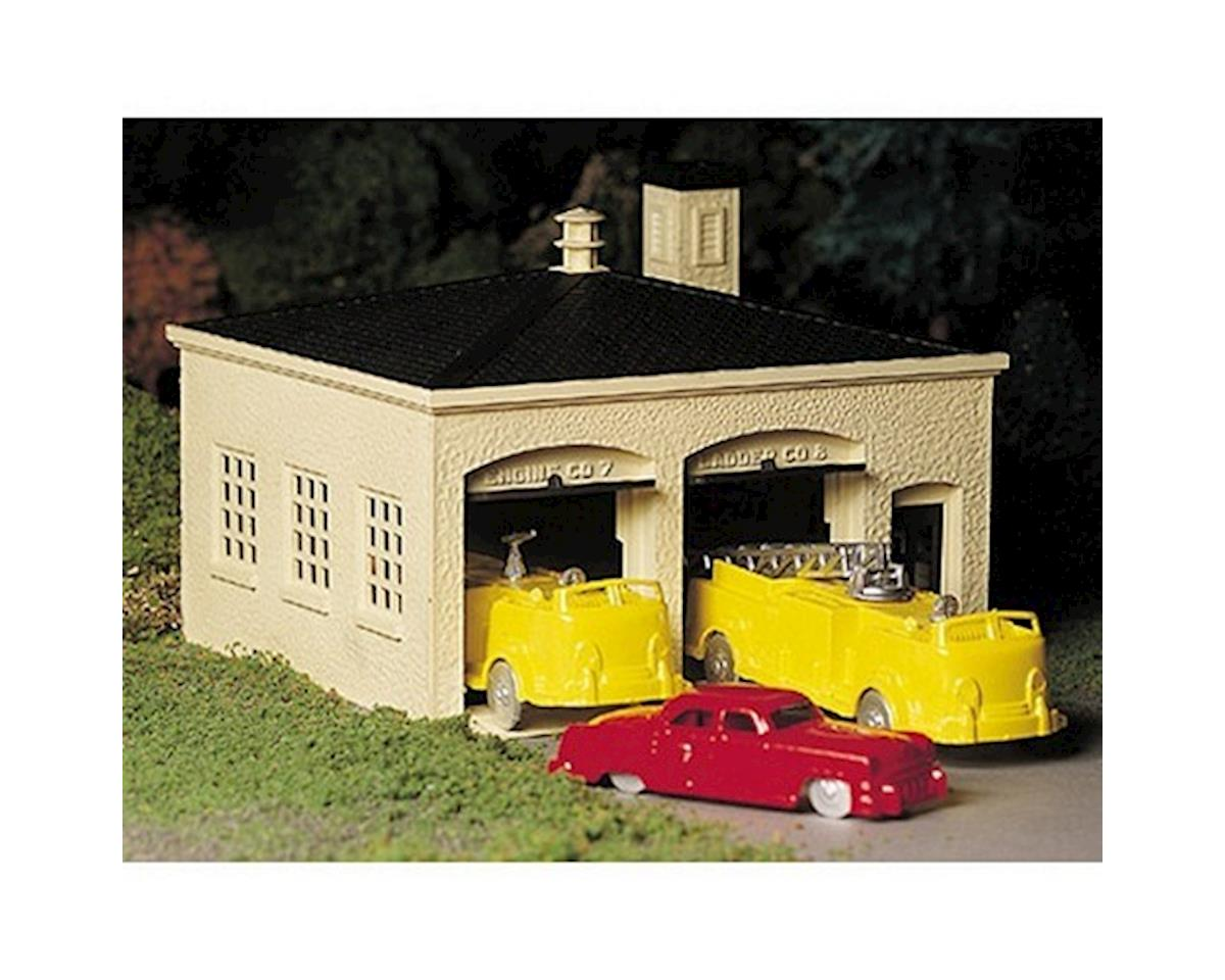 Bachmann O Snap KIT Fire House w/Truck