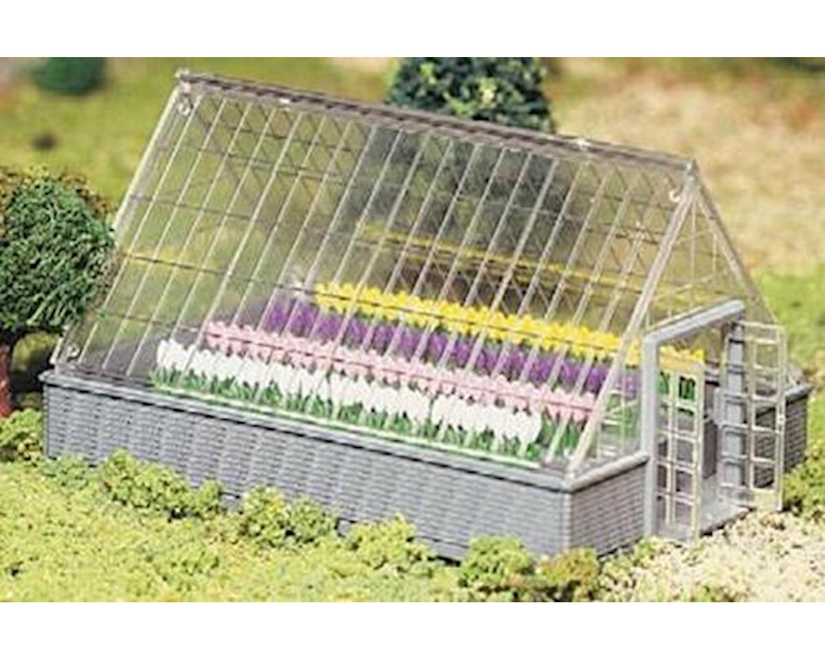 Bachmann O Snap KIT Greenhouse w/Flowers