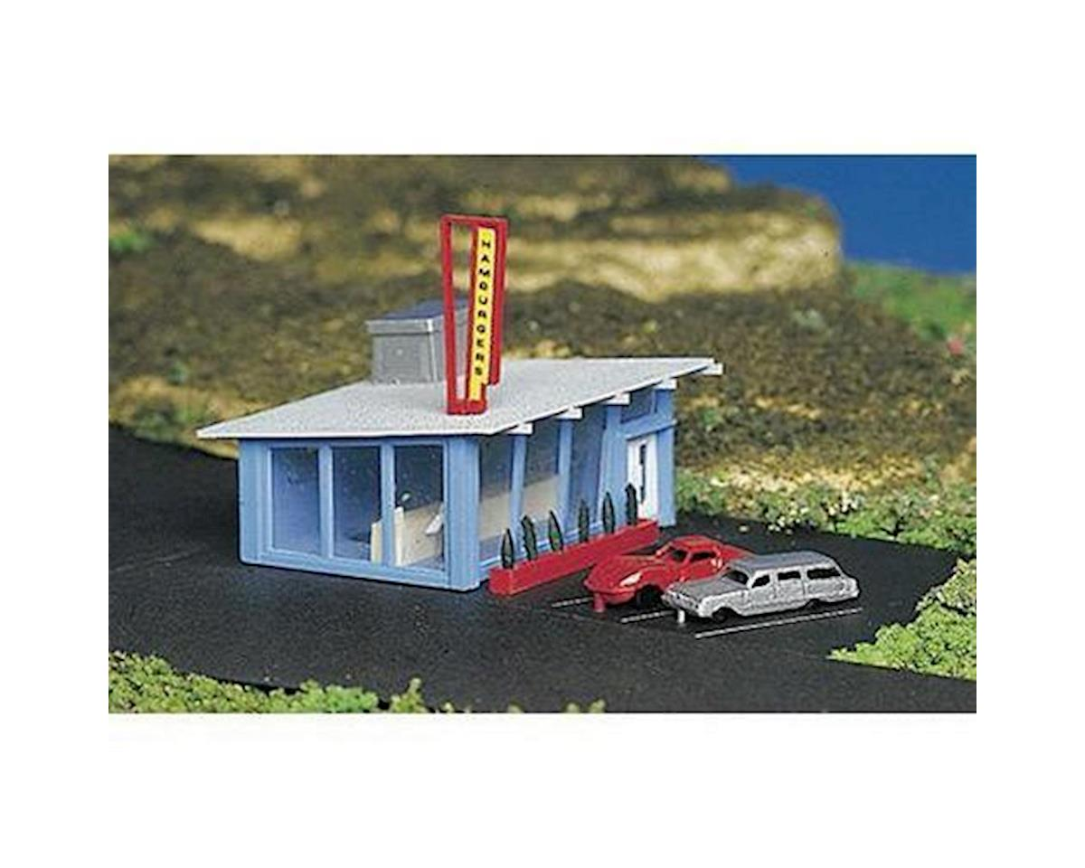 Bachmann N Built Up Hamburger Stand