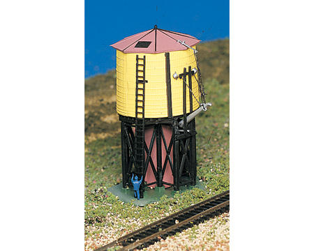 Bachmann N-Scale Plasticville Built-Up Water Tank